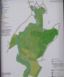 Map Of Glasgow Scotland Photographs And Map Of Linn Park And The White Cart River Walkway