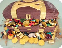 Cake Decorating Ideas At Home Treasure Chest Cake Decorating Ideas Treasure Chest Cake For
