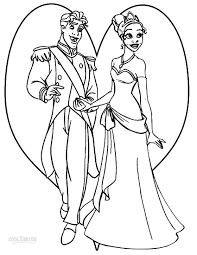 princess tiana coloring pages coloringsuite