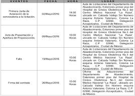 calendario imss 2016 das festivos imss licita adquisición de cámara de acero