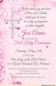 holy communion invitations holy communion invitation cross catholic flowers