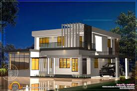 Kerala House Single Floor Plans With Elevations Elevation And Floor Plan Of Contemporary Home Indian House Plans