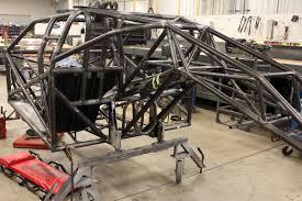 behind the scenes race car build up at rick jones and quarter max