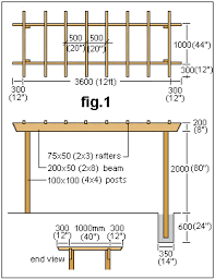 garden arbor plans how to build a pergola or arbor instructions