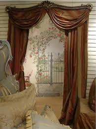 bathroom enchanting metal bronze swing arm curtain rods in 24 38
