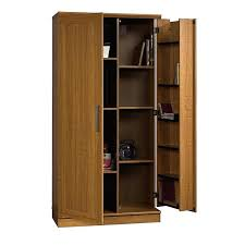 sauder homeplus basic storage cabinet dakota oak sauder homeplus storage cabinet base sienna oak finish storage