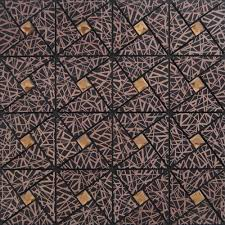 classical laser aluminum alucobond tile metal glass diamond mosaic