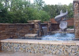 Waterfall Glass Tile Ultra Outdoors