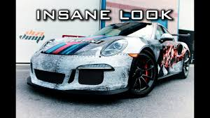 porsche gt3 rs wrap martini wrap porsche 991 gt3 rs youtube