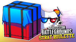 pubg strat roulette battlegrounds strat roulette airdrop crates only pubg youtube