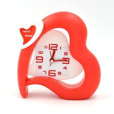 desk alarm clock aliexpress com buy special offer morning clock heart shape