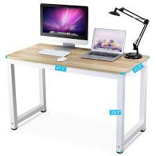 Walnut Computer Desks For Home Tribesigns Computer Desk 47