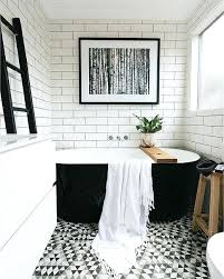bathroom tiles black and white ideas black and white bathroom tile hexagon black and white tile