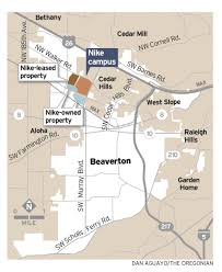 Map Of Beaverton Oregon by Beaverton Hopes Repaired Relationship With Nike Will Help City U0027s