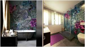 tapeten badezimmer wohlfühbad mit tapete wall decò im badezimmer design by torsten
