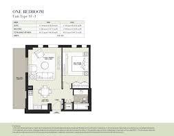 hayat boulevard u2013 type 1f 3 1 bedroom dubai property developer