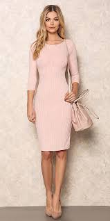 light pink bodycon dress pastel pink bodycon dresses howtowear fashion