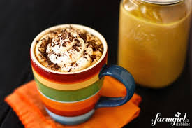 pumpkin spice latte homemade recipe for 1 week of yummy drinks