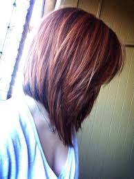 red brown long angled bobs 7 best beautiful hair images on pinterest hair color colourful