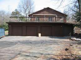 deck over flat roof garage deck design and ideas