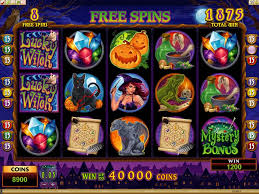 halloween slots all about slots microgaming lucky witch slot review