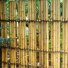 rolled bamboo fencing panels how to install rolled bamboo