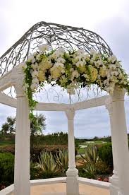wedding arch gazebo orchid wedding arch flowerduet