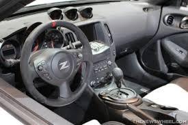 370z Nismo Interior Nismo 370z Roadster Concept Revealed At Chicago Auto Show
