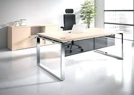 bureau table verre bureau design verre metal large size of table bureau sign pair of