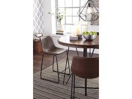 ashley dining room signature design by ashley centiar round dining room counter table