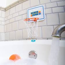 scrub a dunk bathtub basketball hoop for baby ballers u2013 the dunk