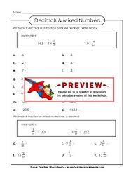 name practice test 1 rewrite this mixed number as a decimal 3