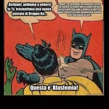 Batman Meme Generator - batman slap robin blasphemy meme generator