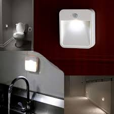 Motion Activated Night Light Battery Powered Motion Sensor Led Light Portable Wide Angled