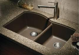 blanco metallic gray sink blanco 440178 1 3 4 bowl silgranit ii undermount kitchen