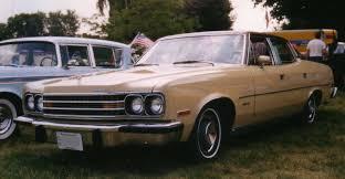 4 Door Muscle Cars - file 1974 amc ambassador brougham 4 door sedan beige jpg