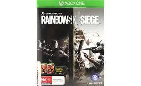 siege xbox 360 tom clancy s rainbow 6 siege xbox one buy electronic