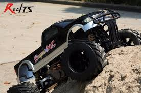 rc monster truck racing realts fs racing 1 4 scale 4x4 35cc gas monster truck remote control