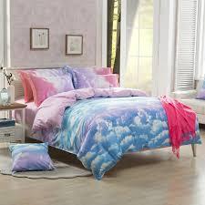 Bed Covers Set Harajuku Galaxy Sheet Bedding Bag Four Kawaii