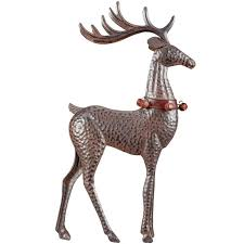 buy the rustic brown tabletop reindeer decor accent by ashland at