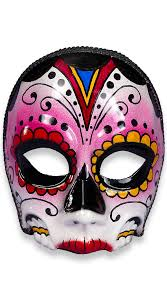 costume masks day of the dead senorita mask day of the dead makeup ideas
