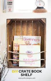 Crates For Bookshelves - diy crate bookshelf with crate bookshelf wooden crates and