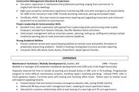 Sample Resume For Canada by Download Painter Resume Haadyaooverbayresort Com