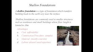 basics of foundation engineering u0026 it u0027s types by sityog institute