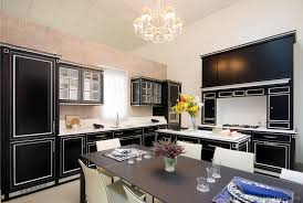 Building Traditional Kitchen Cabinets Pictures Of Kitchens Traditional Black Kitchen Cabinets