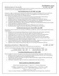 Sle Resume For Service Desk Support Resume Army Franklinfire Co