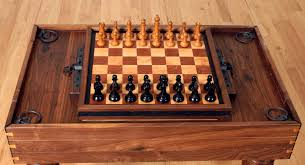 Modern Chess Table Victorian Table Etsy Protipturbo Table Decoration
