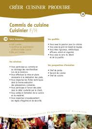 commis de cuisine en anglais cuisine fiches des mã tiers hã tellerie restauration hã tellerie
