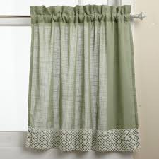 Long Window Curtains by Half Window Curtains Ideas Homesfeed