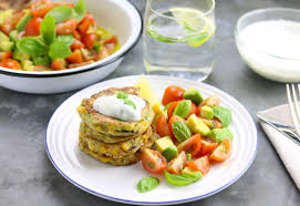 cuisine courgette spiced courgette sweetcorn fritters the last food